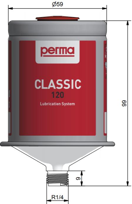 Hệ thống bôi trơn một điểm Classic Perma